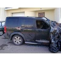 Продам а/м Land Rover Discovery после пожара